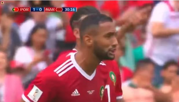 ملخص مباراة المغرب و البرتغال