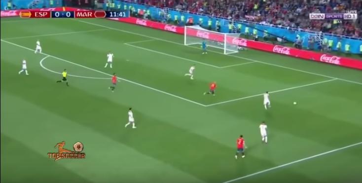 ملخص مباراة المغرب و إسبانيا
