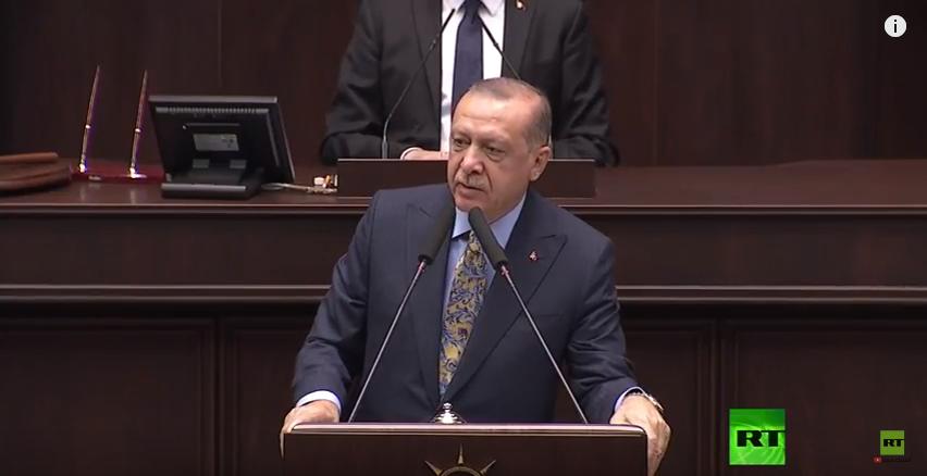 كلمة أردوغان في قضية خاشقجي