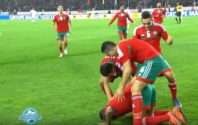 ملخص مباراة المغرب و ليبيا