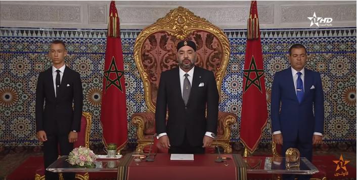 خطاب ثورة الملك و الشعب 2018