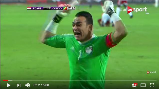 مصر تتاهل لكأس العالم 2018