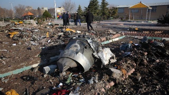 ايران تؤكد إطلاق صاروخين في اتجاه الطائرة الأوكرانية