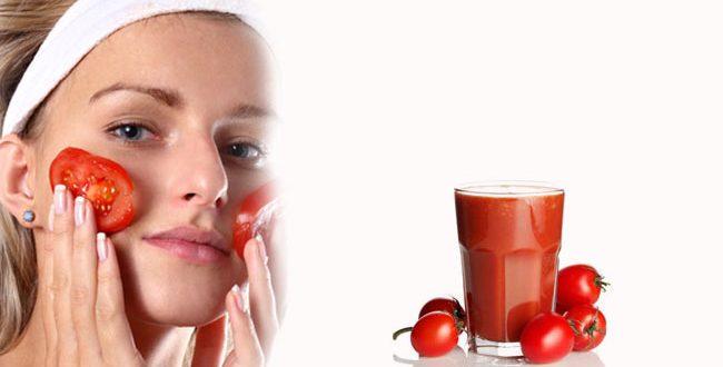 فوائد الطماطم الجمالية