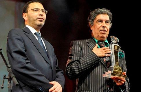 تكريم عبد الوهاب الدكالي بالمسرح الملكي بمراكش