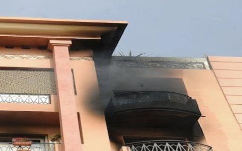 «لعب الدراري» يتسبب في حريق بعمارة سكنية بمراكش