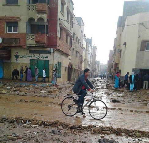 إعادة إيواء سكان الدواوير المتضررة من فيضانات مراكش