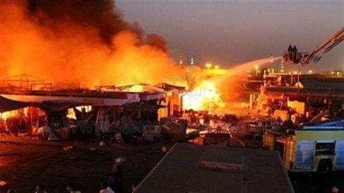 مراكش: السيطرة على حريق شب بسوق شعبي دون وقوع ضحايا