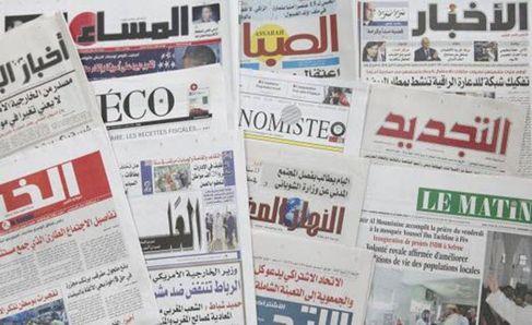عناوين الصحف: المغرب يربح 1670 مليار سنتيم من تراجع وارداته من البترول و 27 هيئة مدنية تطالب الأحزاب بتشجيع ترشيحات النساء
