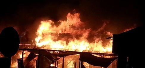 حريق هائل بأحد مطاعم ماكدونالد بمراكش يخلف أضرار مادية كبيرة