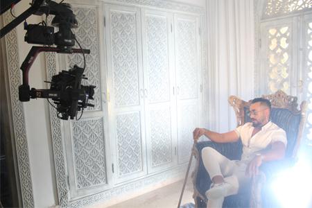 مراكش تحتضن تصوير فيديو كليب جديد للفنان ماريشال و سعاد الأبيض