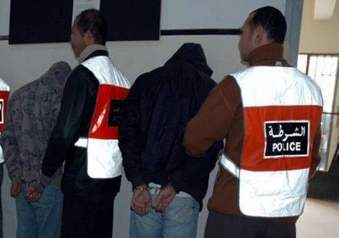 عصابة سرقة المنازل أمام العدالة بمراكش