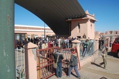 سوق الجملة للخضر والفواكه بمراكش الزلزال الذي يهدد بقصم ظهر مجموعة من المسؤولين والموظفين الجماعيين