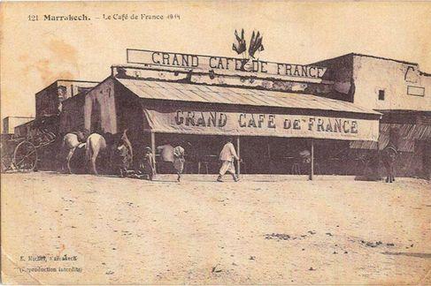 مقهى فرنسا 1914